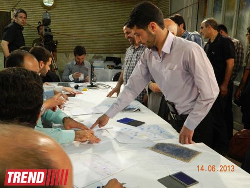 Iranian presidential elections voting time extended by two hours