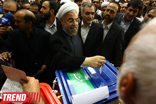 Iranian top clerics cast presidential vote