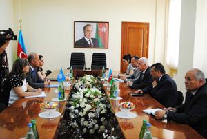Azərbaycan hökuməti ilə FAO arasında yeni layihə sənədi imzalandı (FOTO) - Gallery Image