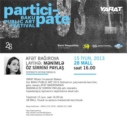 YARAT presents young Azerbaijani artist Afet Baghirova's project - Gallery Image
