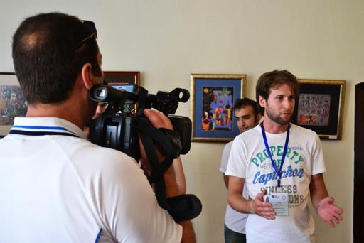 """В Ширване состоялось открытие выставки в рамках """"Azerbaijan Art Festival-2013"""" (фото) - Gallery Image"""