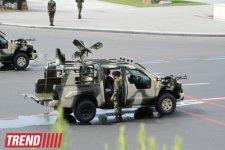В Баку началась подготовка к военному параду, перекрыты дороги к площади Азадлыг (ФОТО) - Gallery Thumbnail