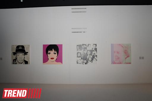 В Центре Гейдара Алиева открылась выставка работ известного американского художника Энди Уорхола (ФОТО) - Gallery Image