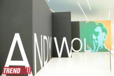 Heydər Əliyev Mərkəzində tanınmış amerikalı rəssam Endi Uorholun işlərindən ibarət sərgi açılıb (FOTO) - Gallery Thumbnail
