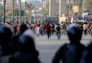 Egypt officials blames protesters for deaths at pro-Mursi camp