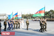 Dress rehearsal for military parade begins in Baku (PHOTO) - Gallery Thumbnail
