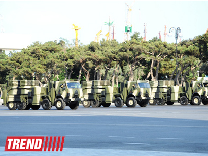Dress rehearsal for military parade begins in Baku (PHOTO)