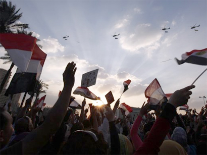 Pro-Morsi rally comes under fire in Cairo