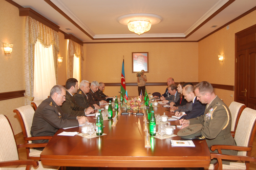 Azerbaijan, U.S. discuss prospects of military cooperation