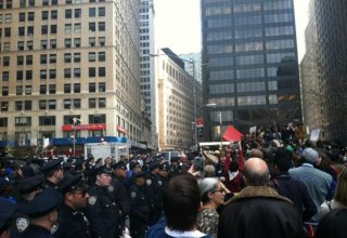 Hundreds in New York protest over George Floyd's death