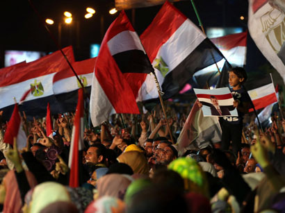 Supporters of ousted President Morsi continue protests in Egypt