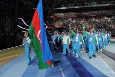 Kazanda XXVII Universiadanın açılışı olub (FOTO) - Gallery Thumbnail
