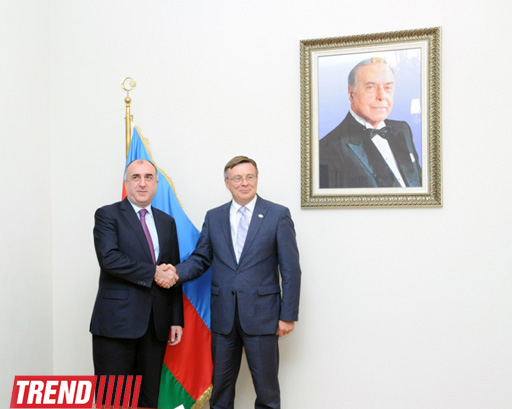 FM: Azerbaijan urges OSCE head to intensify Minsk Group's activity  (PHOTO) - Gallery Image
