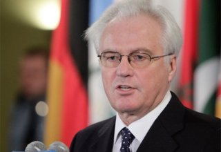 Serbian president awards order of Serbian Flag of first degree to Churkin