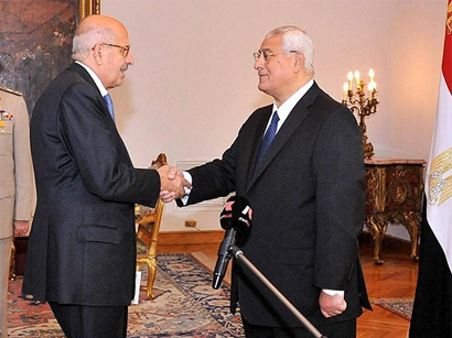 Nobel laureate ElBaradei sworn in as Egypt vice president