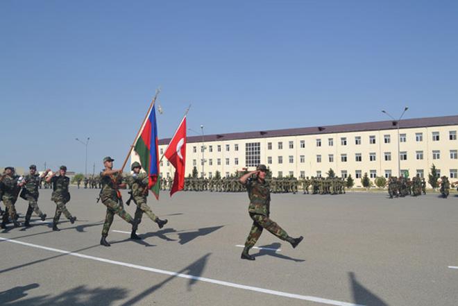 Азербайджан и Турция проводят совместные военные учения (ФОТО)