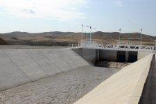 Президент Азербайджана принял участие в церемонии сдачи в эксплуатацию канала Вельвелечай-Тахтакерпю (ФОТО) - Gallery Thumbnail