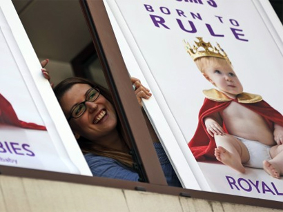 Royal baby to have as normal a childhood as possible