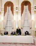 Президент Ильхам Алиев принял участие в церемонии ифтар по случаю священного месяца Рамазан (ФОТО) - Gallery Thumbnail