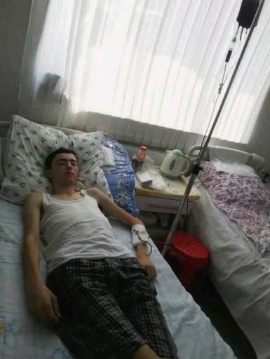 Кямран Ашрафов: за 5 дней до экзамена поставили диагноз - острый лейкоз (фото)