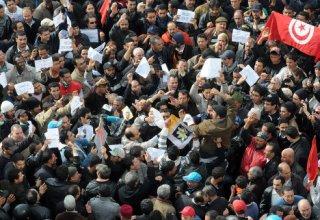 Protest erupts in Tunisia amid discontent