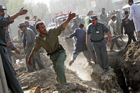 Afghan wedding suicide blast kills 63, wounds 182: ministry (UPDATED)