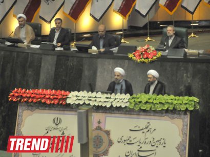 Hassan Rouhani: Iran doesn't have thoughts of going at war with world (PHOTO)- UPDATE