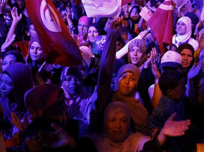 Tunisia revolution ceremony disrupted by victims' families