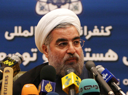 If other party as determined as Iran, nuclear talks can succeed in short run - Rouhani