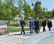 Azerbaijani President arrives in Kurdamir region (PHOTO) - Gallery Thumbnail