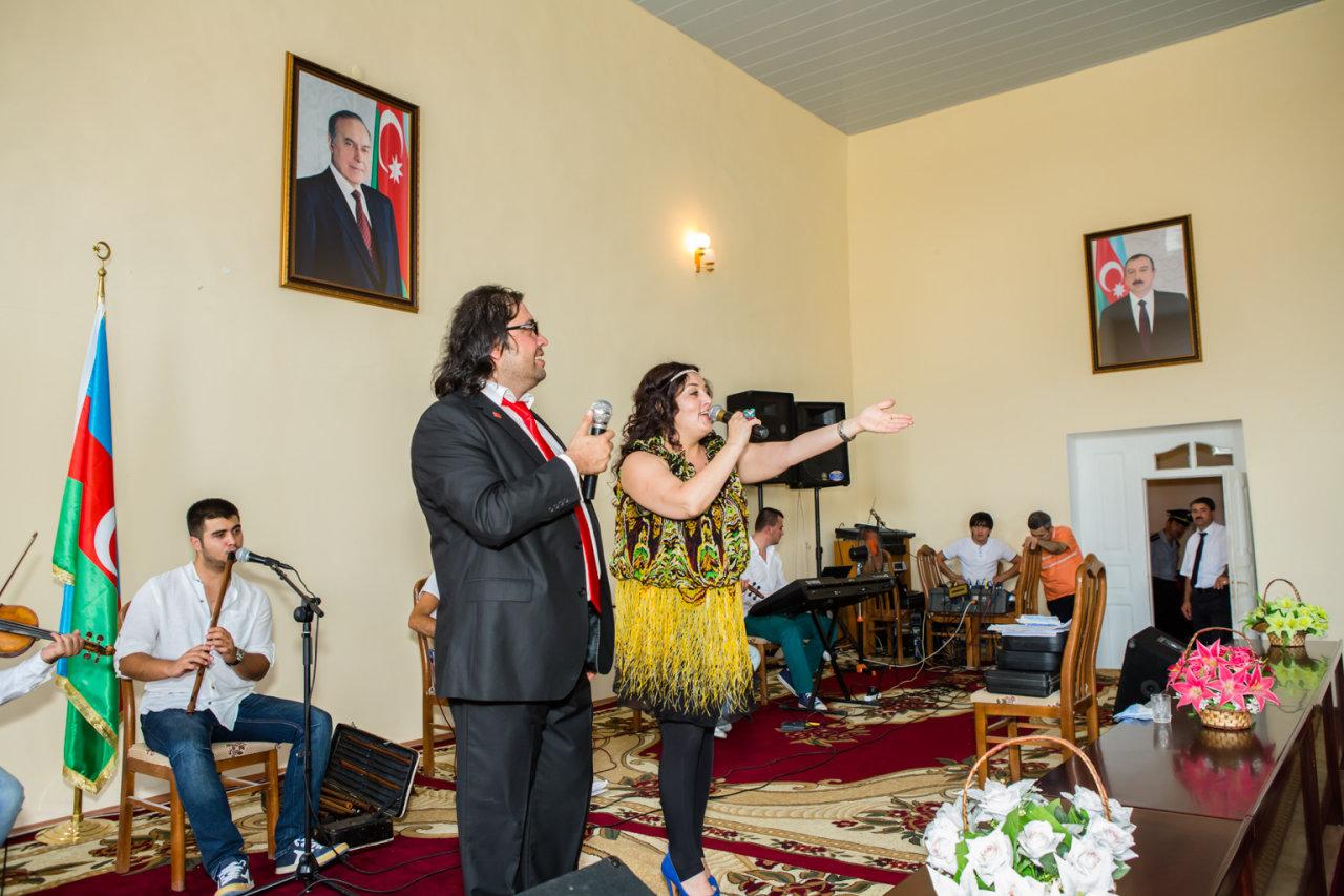 """В Азербайджане проходят концерты турецкого исполнителя Башкала: """"Мост души между Карабахом и Анадолу"""" (фото) - Gallery Image"""