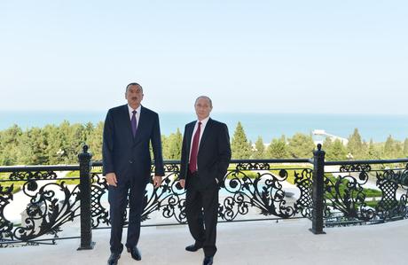 Azərbaycanla Rusiya arasında beş sənəd imzalanıb (FOTO) - Gallery Image