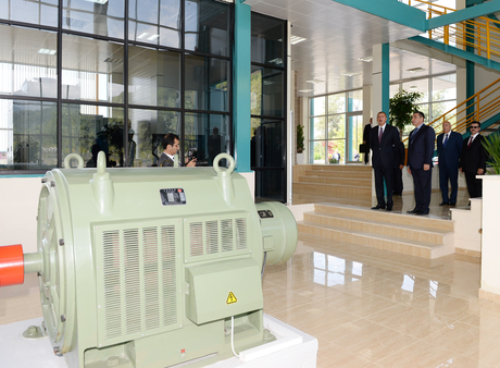 President Ilham Aliyev inaugurates Ismayilli-1 Hydroelectric Power Station (PHOTO) - Gallery Image