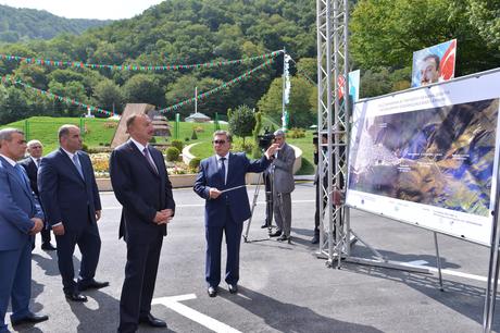 Ильхам Алиев: В каждом городе Азербайджана реализуются инфраструктурные проекты, ведется работа для того, чтобы людям жилось комфортно (ФОТО) - Gallery Image