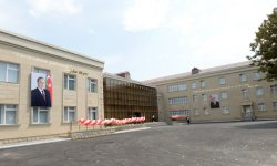 President Ilham Aliyev opens new building of Bahmatli village comprehensive school (PHOTO) - Gallery Thumbnail
