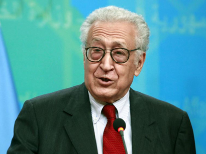 UN envoy Brahimi meets Damascus-based opposition