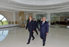 Azerbaijani President attends opening of Heydar Aliyev Center in Sabirabad District (PHOTO) - Gallery Thumbnail
