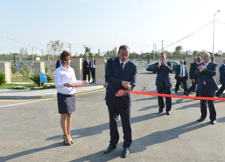 President Ilham Aliyev opens Saatli Olympic Sports Complex (PHOTO) - Gallery Image