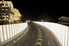 Azerbaijani President Ilham Aliyev attends opening of Gelebe Square road junction (PHOTO) - Gallery Thumbnail