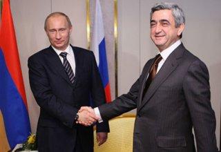 Rusya ve Ermenistan cumhubaşkanları Karabağ sorununu görüşecek