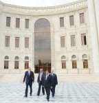Azerbaijani President attends opening of new building of Salyan District Executive Authorities (PHOTO) - Gallery Thumbnail