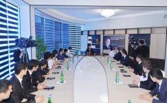 Президент Ильхам Алиев: В Азербайджане проводится очень продуманная и целенаправленная молодежная политика (ФОТО) - Gallery Thumbnail