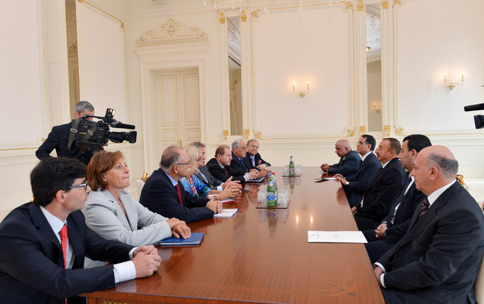 Azerbaijani President receives members of PACE Special Committee`s pre-election mission
