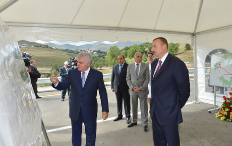Bridge over Cholpan River in Azerbaijan's Gadabay District commissioned (PHOTO) - Gallery Image