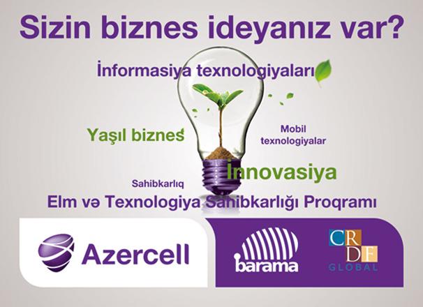 """Azercell Azərbaycan """"start-up""""ı beynəlxalq arenaya çıxarılır"""