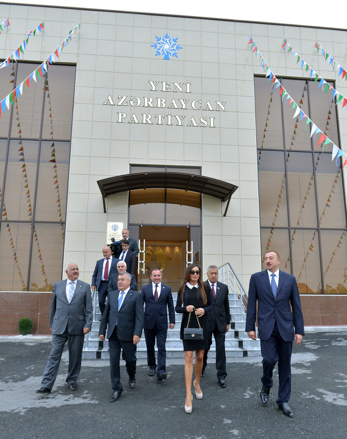 Administrative building of New Azerbaijan Party Guba District Branch opened (PHOTO) - Gallery Image