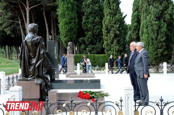 Azərbaycanda Neftçilər Günü qeyd edilir (FOTO) - Gallery Image