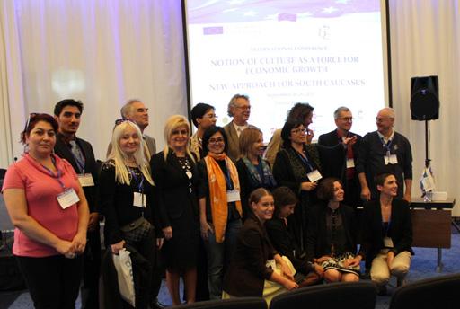 Азербайджан представлен на международной конференции в Грузии (ФОТО) - Gallery Image