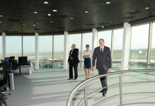 Prezident İlham Əliyev: Azərbaycan tranzit ölkə kimi öz imkanlarını genişləndirir (FOTO) - Gallery Thumbnail