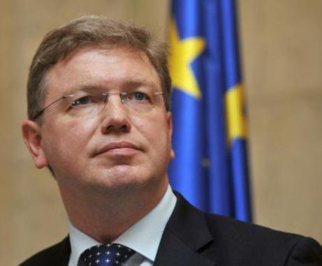 Еврокомиссар Штефан Фюле обсудит с руководством Украины и оппозицией ситуацию в стране